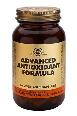 Solgar Advanced Antioxidant Formula Vegetable Capsules, 60