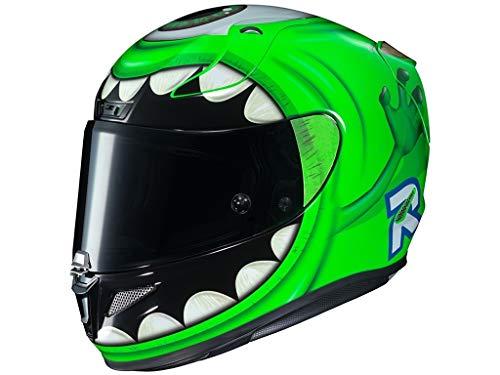 Motorradhelm HJC RPHA 11 WAZOWSKI Monstres Cie, Grun, M