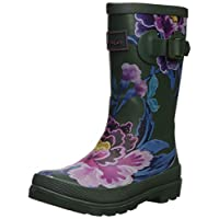 Joules Girls Welly Rain Boot, chinoiseries Floral, 10 Medium UK Little Kid (11 US)