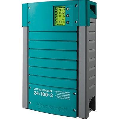 MasterVolt Batt Chgr, ChargeMaster 24V 100A, 3 Bank - 100a/3-bank