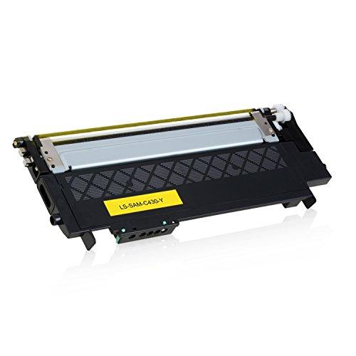 Preisvergleich Produktbild Toner für Samsung Xpress C430W/TEG C480W/TEG Farblaserdrucker - CLT-Y404S/ELS - 1000 Seiten, Yellow