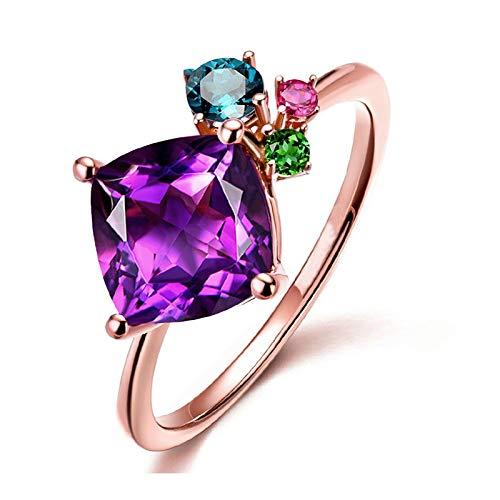 WYYDJZ Zirkonia Modeschmuck Großhandel Kristall Ringe Geschenk für Frauen