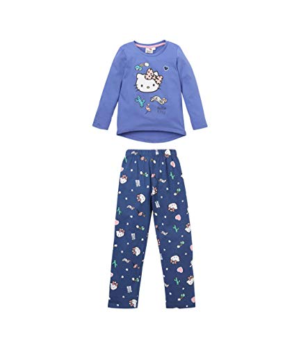 Hello Kitty Pyjama Violett (104)
