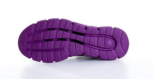 adidas Performance Cc Fresh W/D66268 D66268 Damen Sportschuhe Schwarz (BLACK 1 / METALLIC SILVER / TRIBE PURPLE S14)