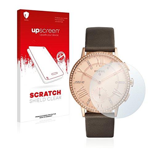 upscreen Scratch Shield Clear Bildschirmschutz Schutzfolie für Fossil Q Gazer (hochtransparent, hoher Kratzschutz)