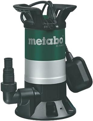 Metabo Schmutzwasserpumpe PS15000S, Mehrfarbig,