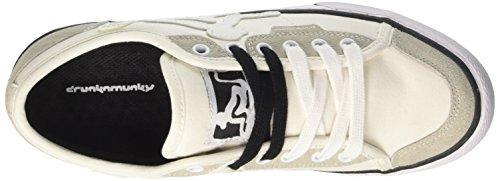DrunknMunky New England, Chaussures de Tennis homme Bianco (White/Black)