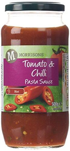 Morrisons Tomato and Chilli Pasta Sauce, 500g