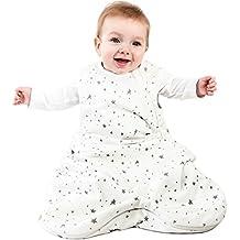 Saco de dormir para bebé desde Woolino, 4temporada, Lana de merino, lavable a máquina, 0–3Años