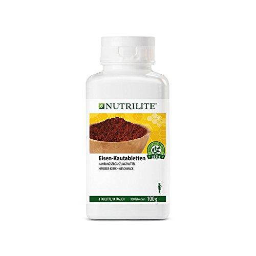 NUTRILITE ™ Eisen-Kautabletten - 100 Stück 100 g (Amway) (Kautabletten Leckere)