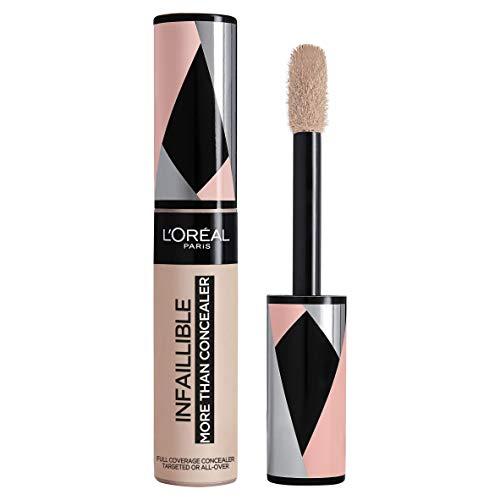 L'Oréal Paris Infaillible More Than Concealer Nr. 322 Ivory hochpigmentierter Concealer, extra großer Applikator, langanhaltend, 11 ml