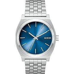 Nixon Reloj Analogico para Unisex de Cuarzo con Correa en Acero Inoxidable A045-2797-00