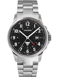 Junkers Herren-Armbanduhr Analog Quarz Edelstahl 6848M2