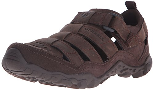 merrell-telluride-wrap-men-velcro-sandals-hiking-brown-clay-10-uk