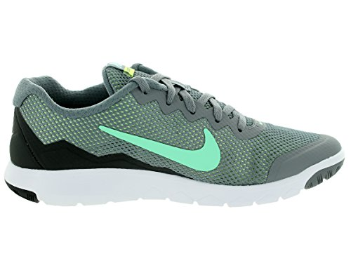Nike Flex Experience Rncl Gry Trainer Sport Chaussures Cl Gry/Grn Glw/Anthrct/Ghst Gr