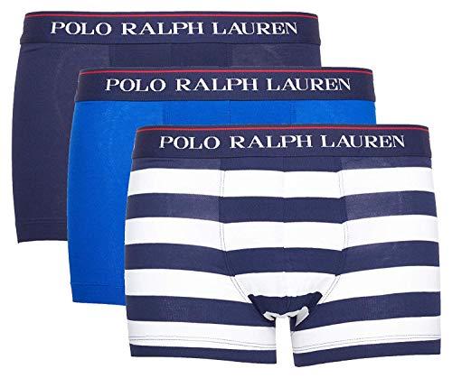 Polo Ralph Lauren Herren Boxershorts 3er Pack Classic Trunk (XXL, Mehrfarbig (Miscellaneous 029))
