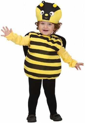 Widmann ape ali copricapo costumi completo bambino party e carnevale 582 per adulti, giallo/nero, 90-104 cm / 1-3 anni, 8003558189106