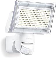 Steinel LED-Strahler XLED Home 1 weiß, Scheinwerfer mit 140° Bewegungsmelder, max. 14 m Reichweite, 920 lm, 6700 K