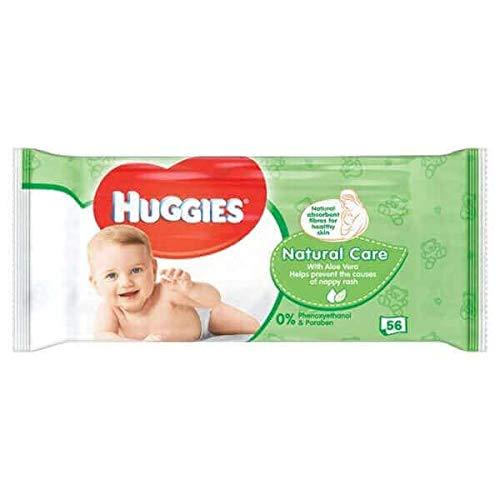 Toallitas Bebé Natural Care Huggies 56 Unidades