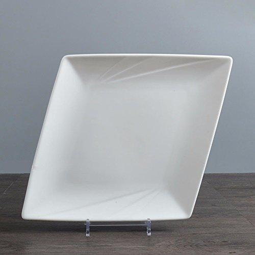 sdkir-creative-fashion-snack-meal-plate-marriott-hotel-ceramic-tableware-rhombic-pattern