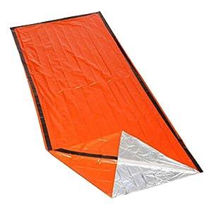 Sumtm Überlebens-Schlafsack, Thermo, wasserdicht, Notfall-Schlafsack für Outdoor, Wandern, Camping