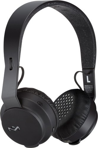 House of Marley Rebel Cuffie On-Ear, Bluetooth, Nero