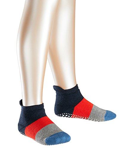 FALKE Jungen Socken Colour Block Catspads, Gr. 23-26, Blau (navyblue meliert 6490)