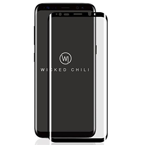 Mist Applikator (Wicked Chili 3D Panzerglas kompatibel mit Samsung Galaxy S9+ / S9 Plus - Displayschutz, Displayschutzfolie, Glasschutzfolie, Echtglas (Anti Fingerprint, Case Friendly, inkl. Applikator))