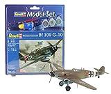 Revell - Maqueta modelo set Messerschmitt Bf-109, escala 1:72 (64160)