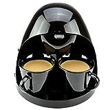 YSCCSY Les Amateurs De Machine À Café Entièrement Automatique Égouttement Système Continu Bureau Infusion De Thé Envoyer Deux Seulement Céramique Cup