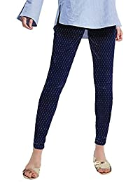oneOeightdesigns Latest Fashion Denim Dobby Jegging for Women/Girls