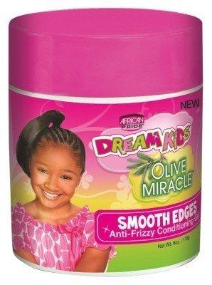 Ap Dream Kids Olive Miracle Smooth Edges Gel 6oz (3 Pack) by AFRICAN PRIDE