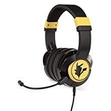 Pokemon Pikachu Wired Gaming Headset/Headphones for Xbox, PS4, Nintendo Switch, PC, Mac, Mobile