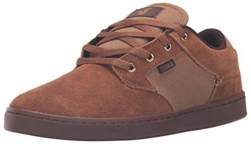 DVS Shoes Quentin, Chaussures de Skateboard Homme Brun