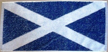 Scottish Flag -aufdruck 100% Baumwolle Bartuch