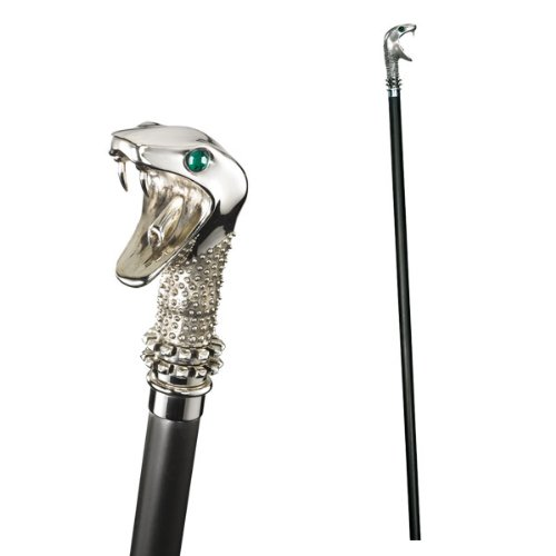 Lucius Malfoy's Walking Stick and Wand accesorio disfraz