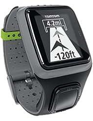 TomTom Combo Runner Uhr GPS dunkelgrau mit Smart Sensor Bluetooth Sensor Cardio WTEK