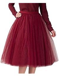FAMILIZO Faldas Cortas Mujer Verano Faldas Tubo De Moda Faldas Tul Mujer Faldas  Altas De Cintura Faldas cdddf93679c9