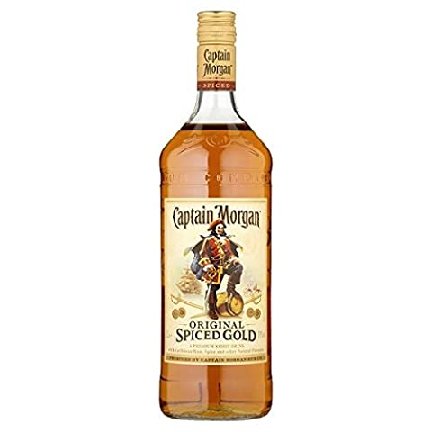Captain Morgan Original Spiced Gold Jamaican Rum 1 Litre Bottle