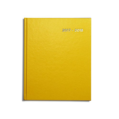 pirongs-page-a-day-2017-2018-yellow-academic-diary-slightly-wider-than-a5