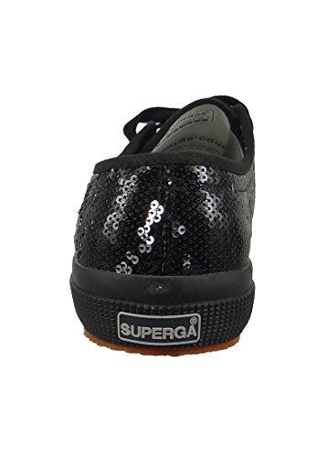 Superga formateurs 2750 COTMETU or métallique Black
