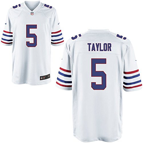 Preisvergleich Produktbild 5 Tyrod Taylor Trikot Buffalo Bills Jersey American Football Shirt Mens Elite Alternate Size L(44)