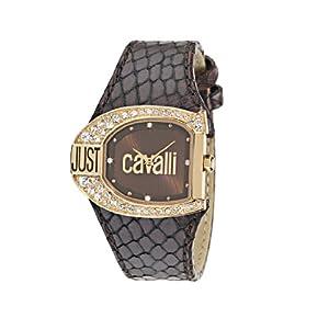 Just Cavalli Logo R7251160555 – Reloj de Mujer de Cuarzo, Correa