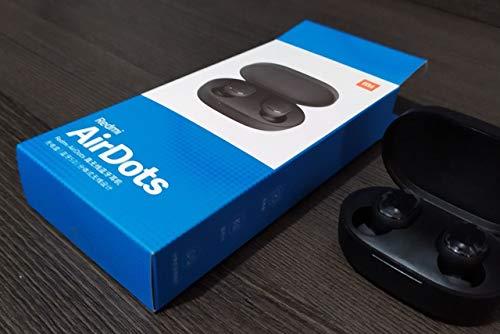 Xiaomi Redmi AirDots – Auricolari Bluetooth V5.0, stereo, Bluetooth, con stazione di ricarica magnetica