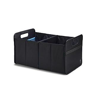Original VW Faltbox Tasche Box Kofferraum Transport Reise Faltschachtel schwarz blau 33D061104