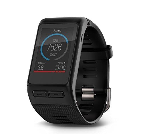 Garmin Vivoactive HR GPS Smart Watch with Wrist Based Heart Rate – Regular WW, Black