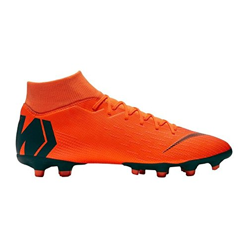Nike Mercurial Superfly Academy MG - AH7362810 - Farbe: Orangefarbig - Größe: 42.5 (Nike Schuhe Fußball Superfly)
