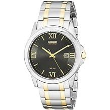 Citizen BM7264-51E - Reloj para hombres, correa de acero inoxidable