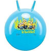 John GmbH 59569–Balón saltador Minions–Talla 45–50cm