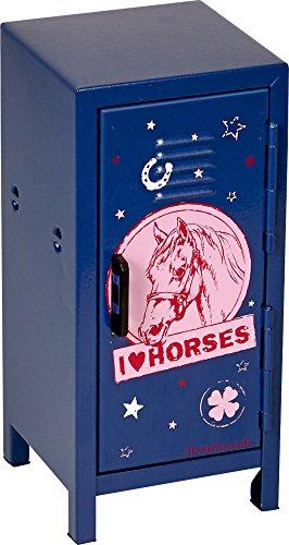Produktbild Spiegelburg Mini Spind Pferde Pferdefreunde (blau)